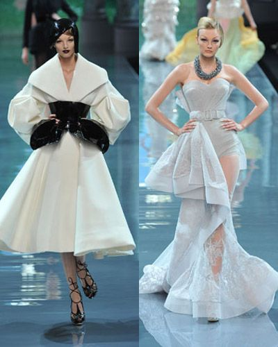 Galliano's 50s-inspired Dior Couture Collection