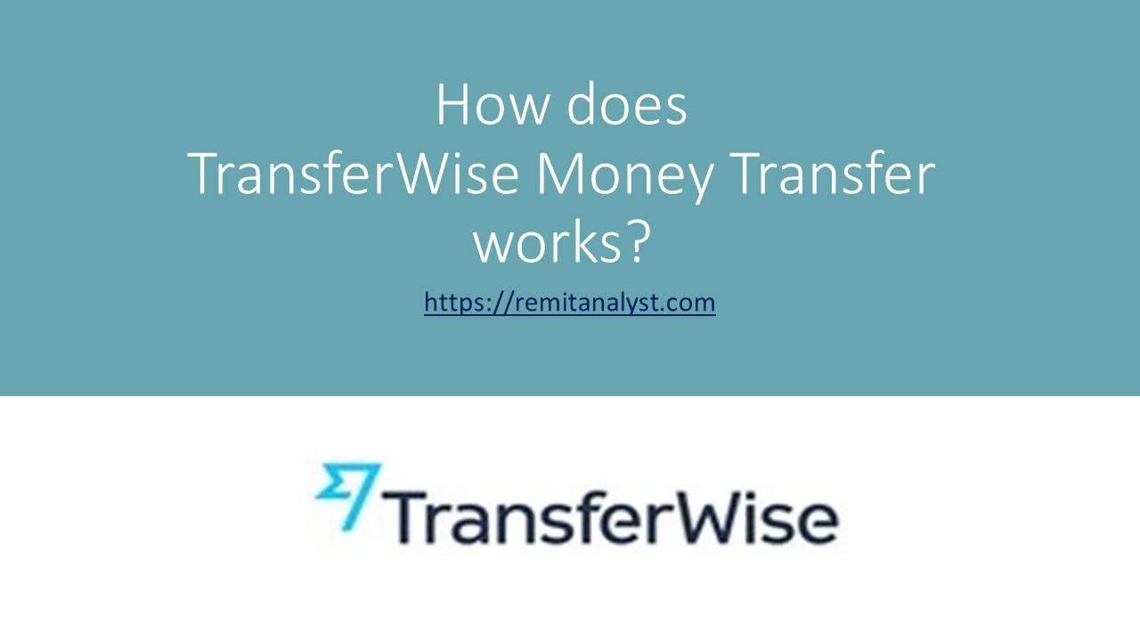 How To Send Money To Transferwise Account