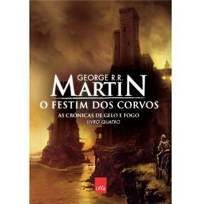 Livro Cronicas De Gelo E Fogo O Festim Dos Corvos Volume 4