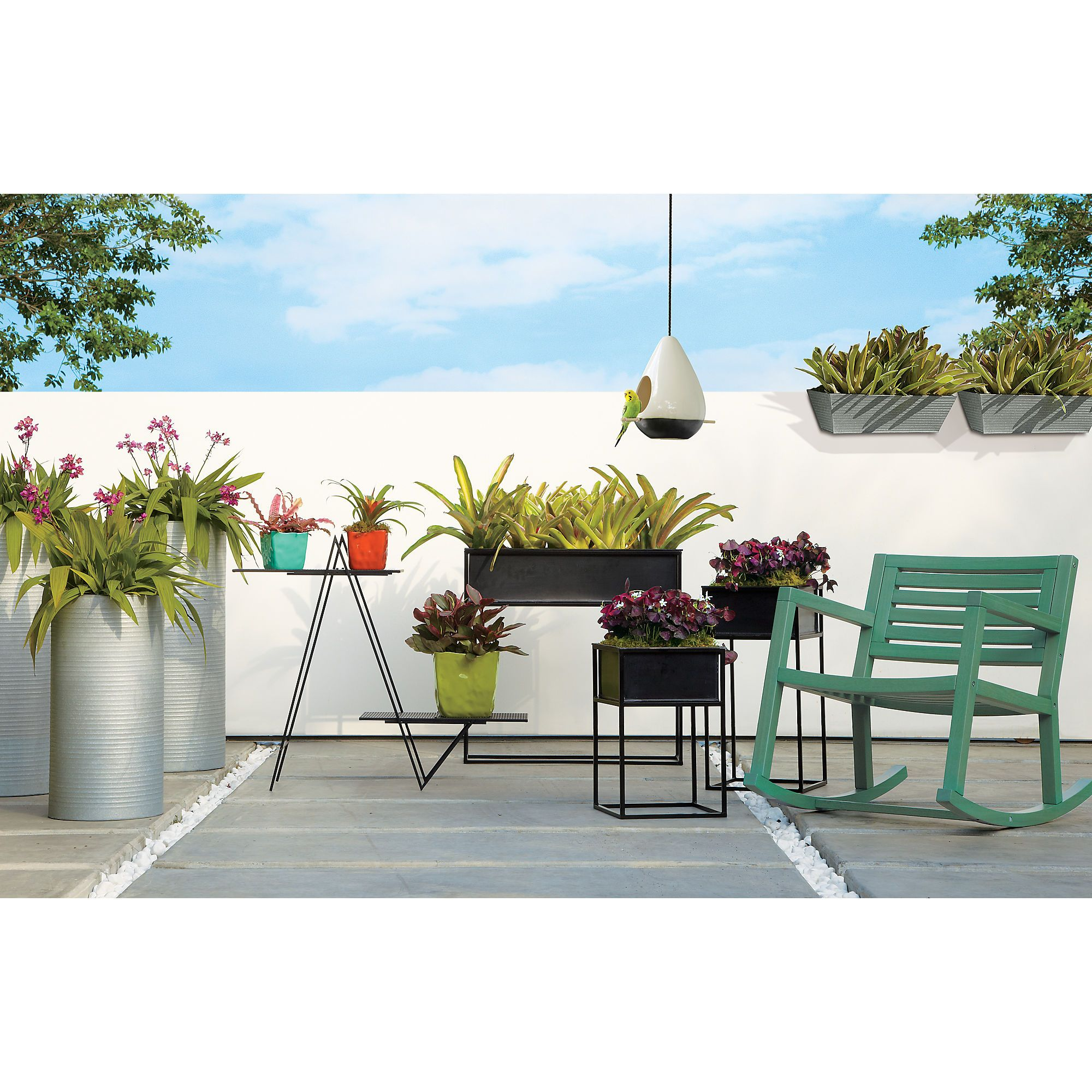 Kronos Planter And Raised Planters In View All Outdoor | CB2