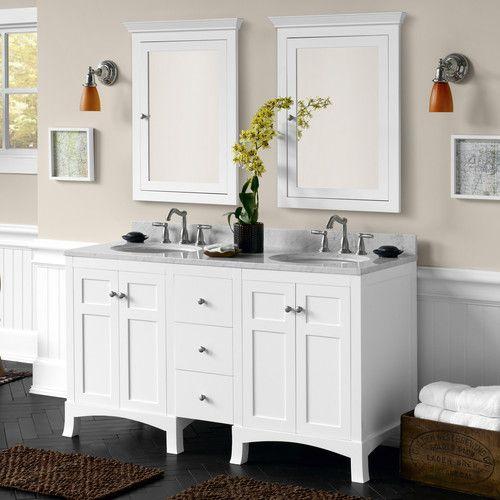 Hampton 24 Double Bathroom Vanity Set Bathroom Vanities For