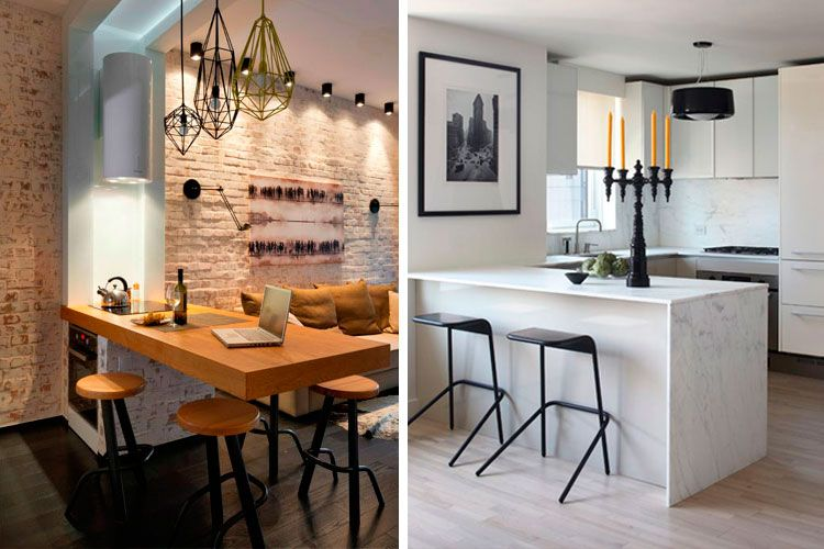 Decofilia blog cocinas peque as con barra americana for Disenos de cocinas pequenas con barra