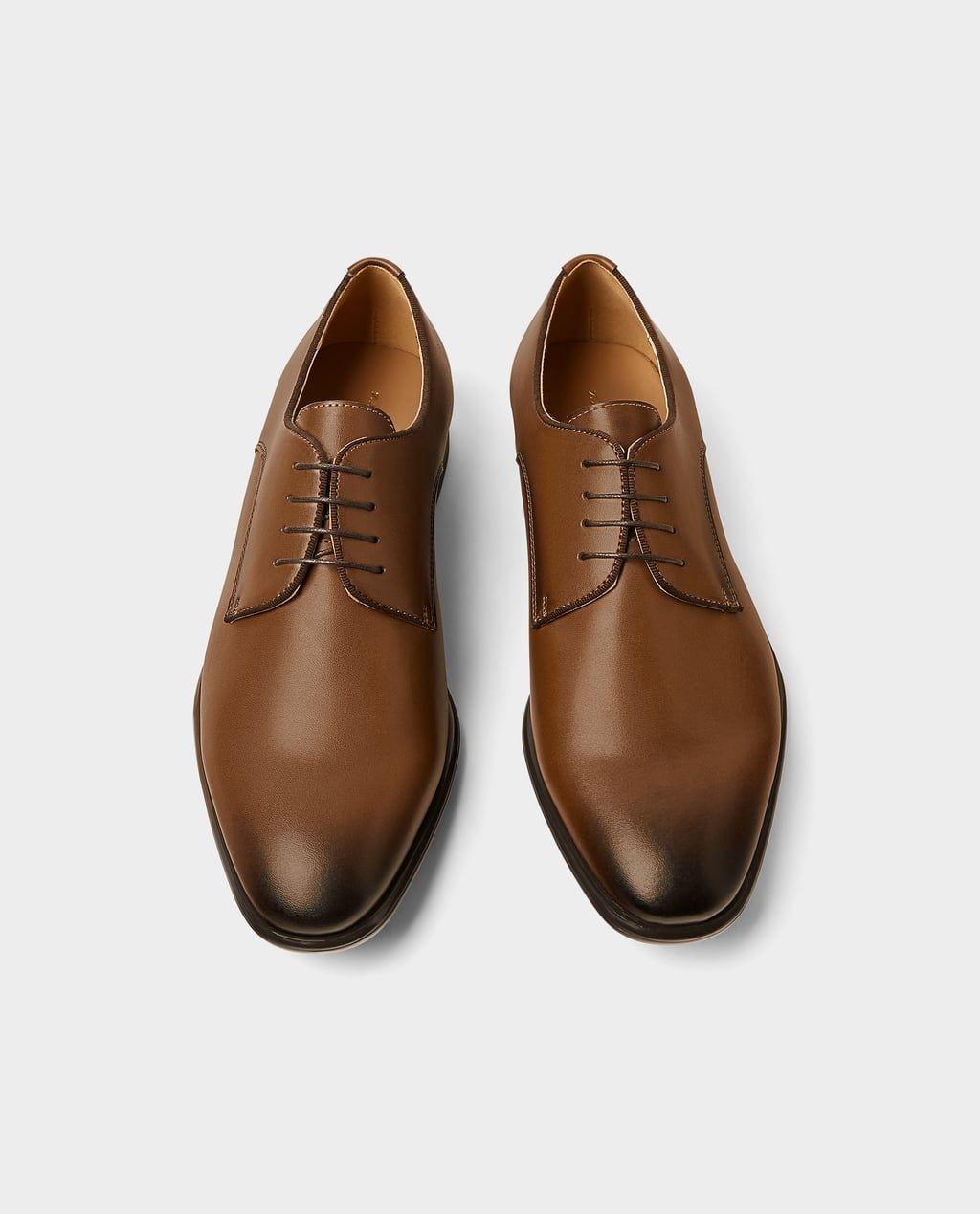 fábrica auténtica 3ac22 9a673 ZAPATO CORDONES VESTIR-Zapatos vestir-ZAPATOS-HOMBRE | ZARA ...