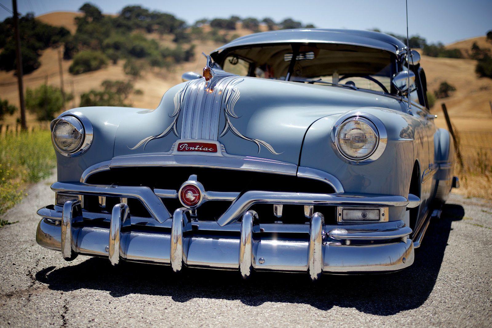 1951 Pontiac Coupe For Sale: 1951 Pontiac Chieftain 2-door Coupe Custom
