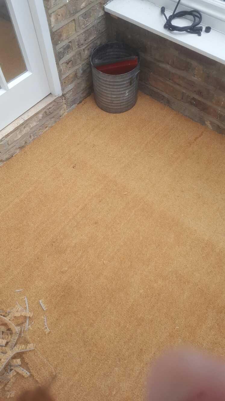 Best A Coir Entrance Mat Fitted Into A Porch Flooring Porch 640 x 480