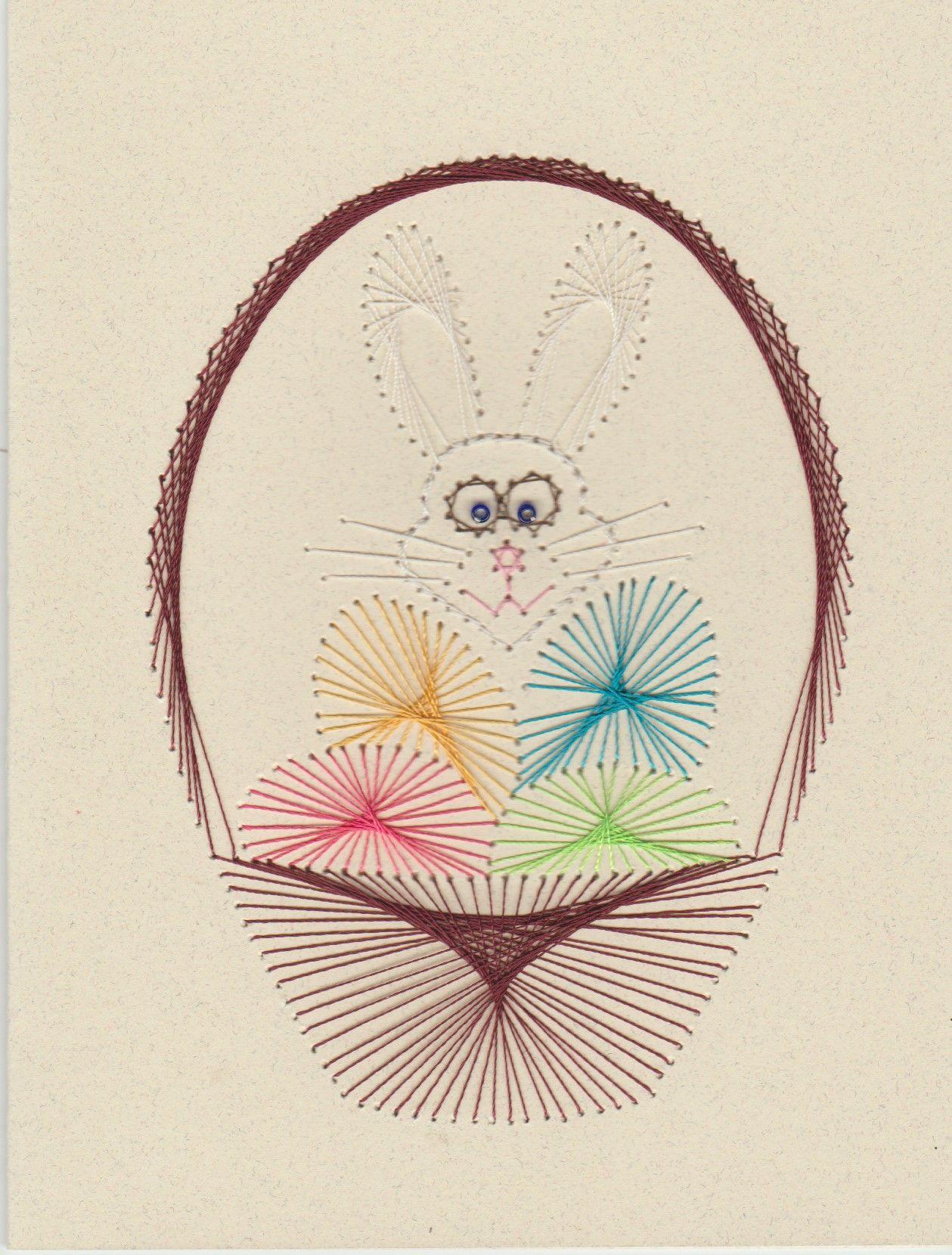 Easter 2015 by Sheilah Roper   Técnica de Hilorama   Hilografia ...