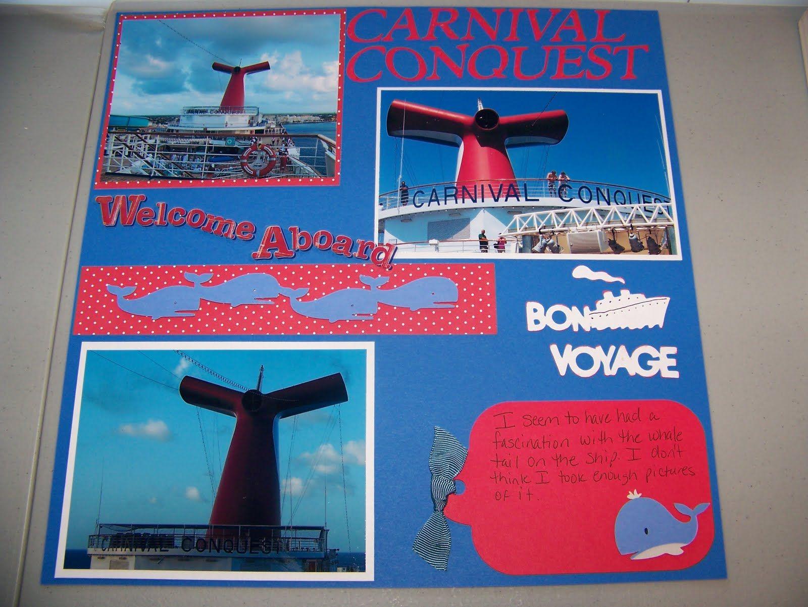 Wedding scrapbook ideas using cricut - Scrapbook Page Layouts Cruise Jamaica Jen Luvs Cricut Corner Carnival Cruise Scrapbook