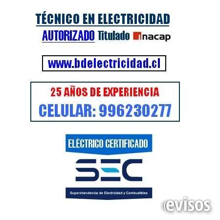 Eléctrico a Domicilio Providencia La Dehesa / Electricista SEC Autorizado  TÉCNICO EN ELECTRICIDAD / TITULADO INACAP / CERTIFICA ..  http://las-condes.evisos.cl/electrico-a-domicilio-providencia-la-dehesa-electricista-sec-autorizado-id-620480