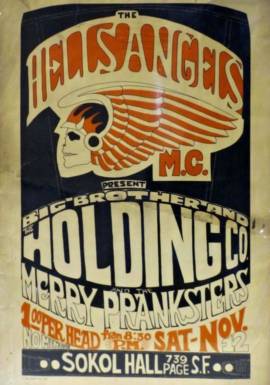 Wrenching & Wenching | Motorcycle Clubs | Concert posters