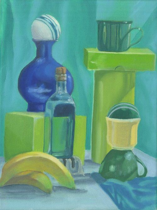 Painting Analogous Colors Color Theory Projects
