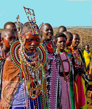 Masai Bride Of Kenya Reluctant Bride I Dream In African - Maasai tribe wild animals attend wedding kenya