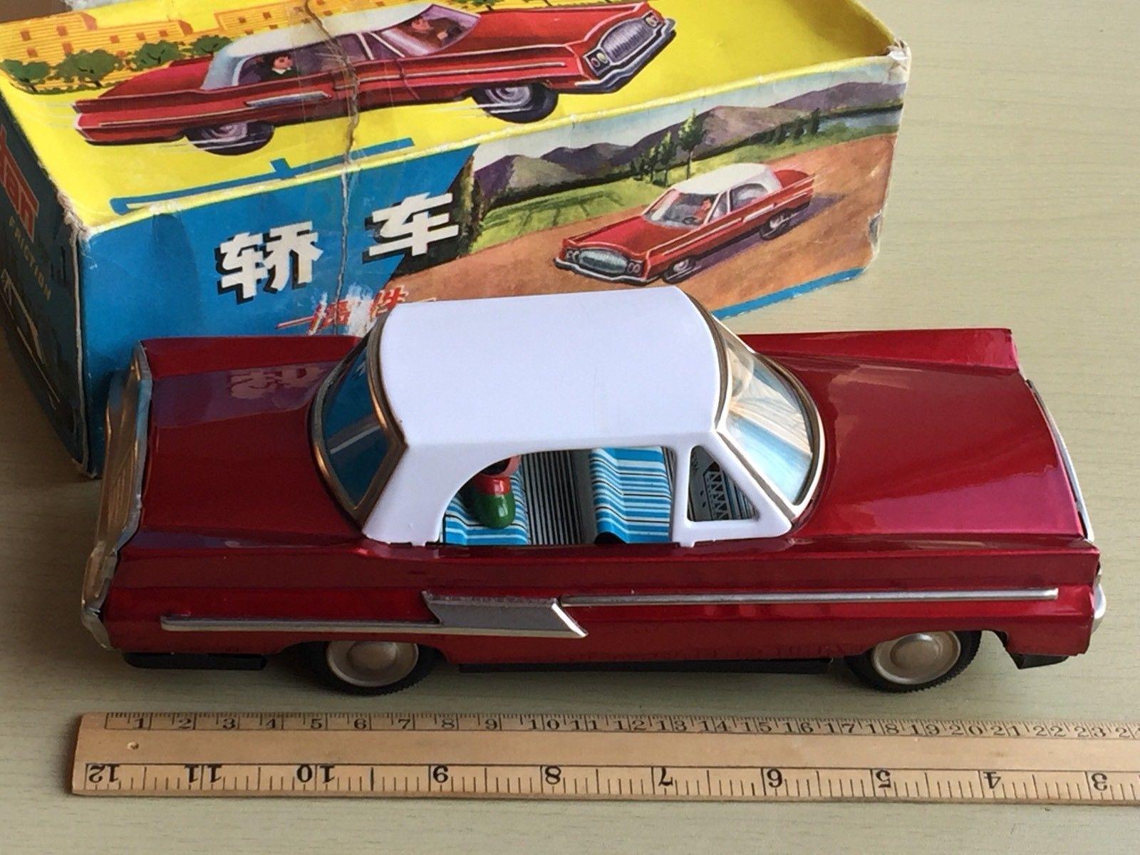 Toys car images  MF Vintage China Tinplate Friction Toy Car  Tin toys