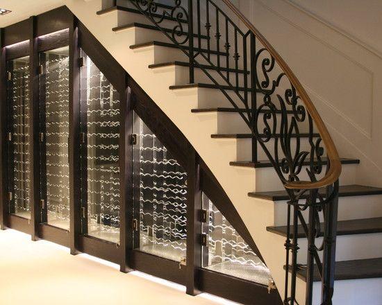 Stylish Ways To Create Extra Storage Under Stairs Wine