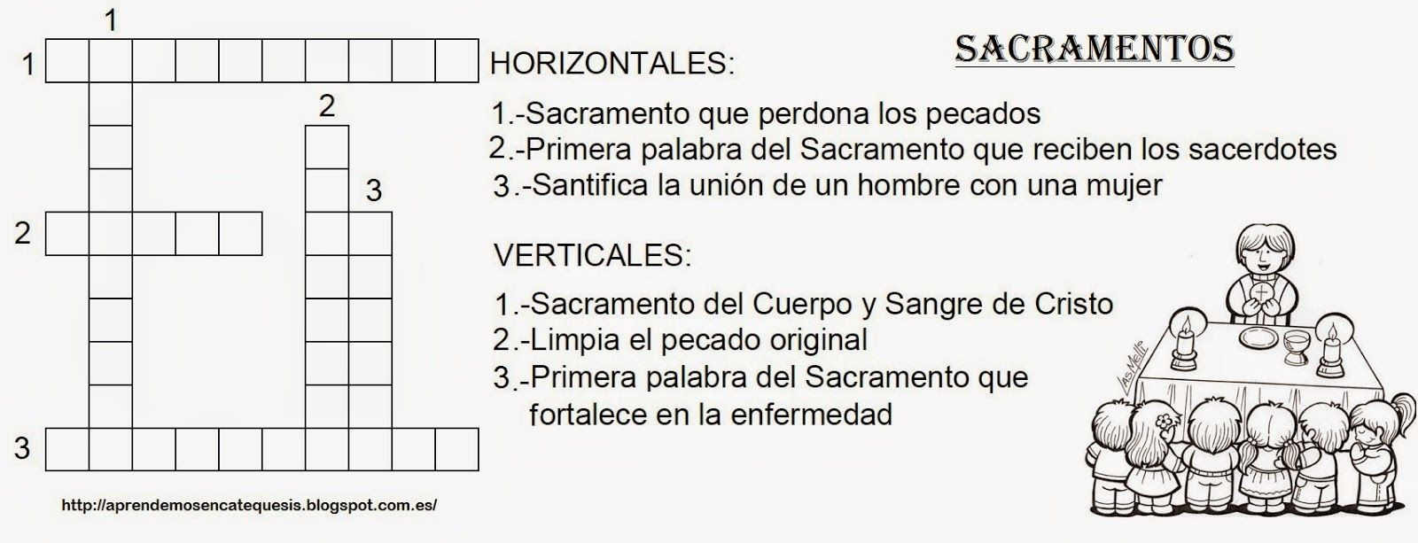 Blog Católico Parroquia Santa María de Baredo-Baiona: Crucigramas ...
