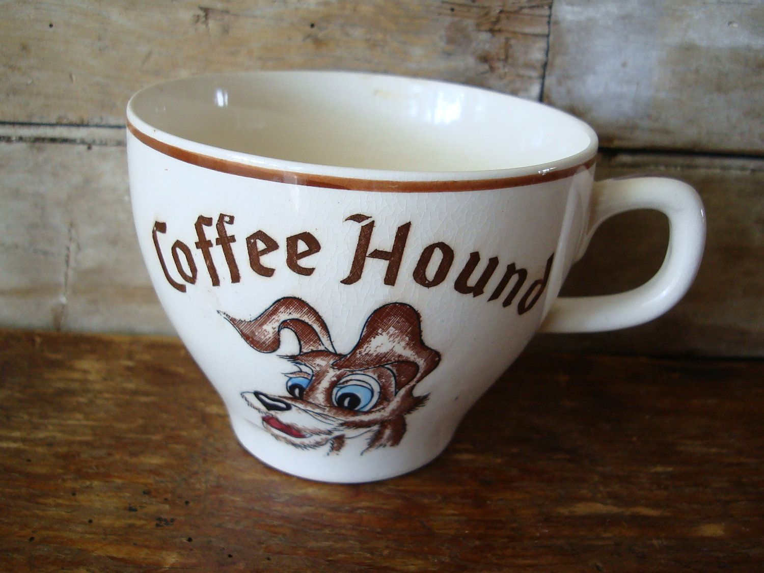 Vintage Disney Lady and The Tramp Coffee Hound Mug