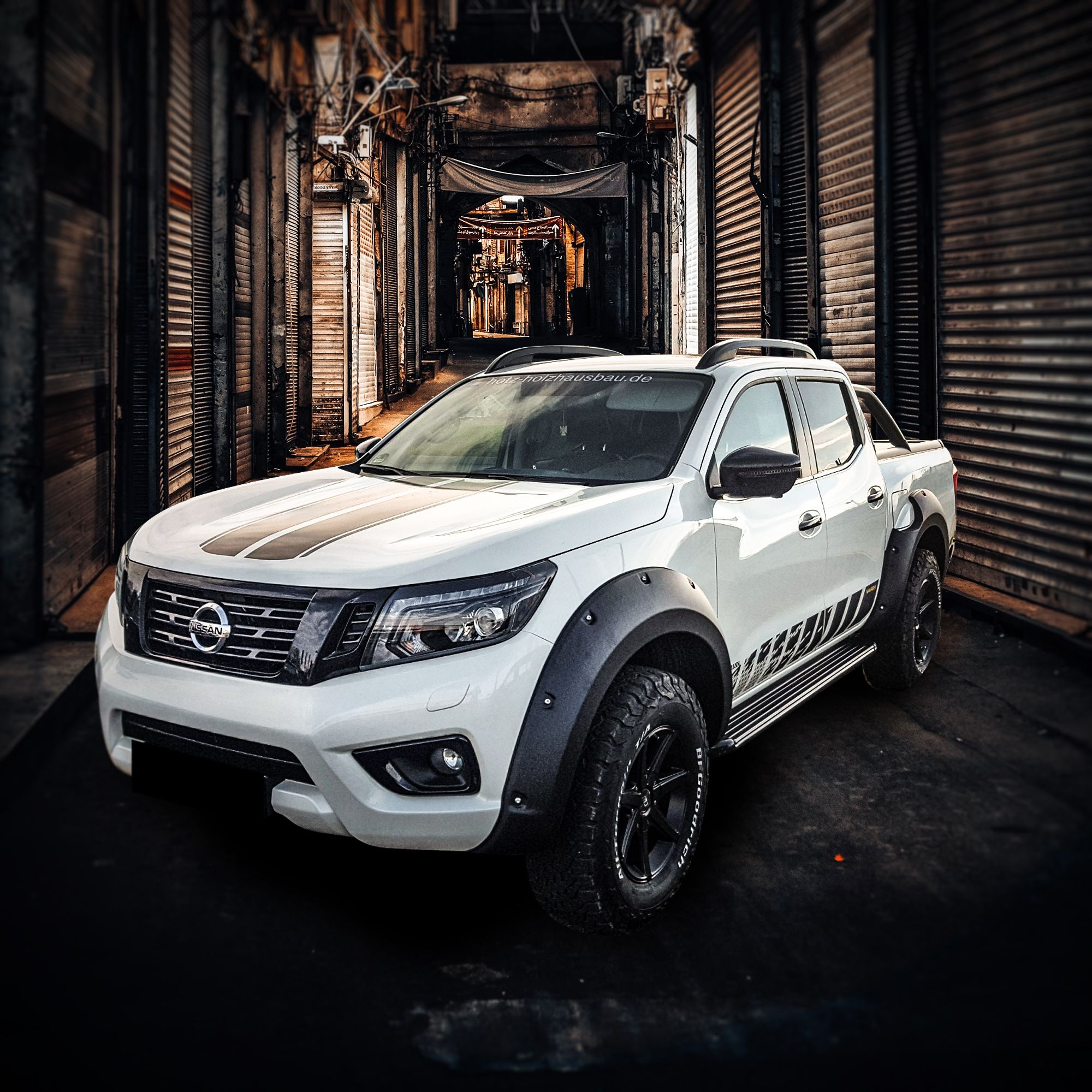 Nissan Beast Equiped With Germansell Fender Flares If Your Are Interested In Suitable Tuingparts For Styling Your Individua Nissan Navara Nissan Pick Up