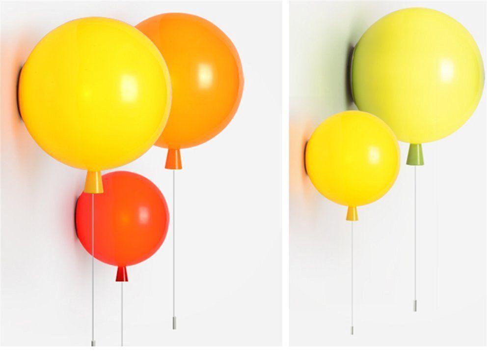 Moderna bambini spazio festa festival il palloncino lampada da