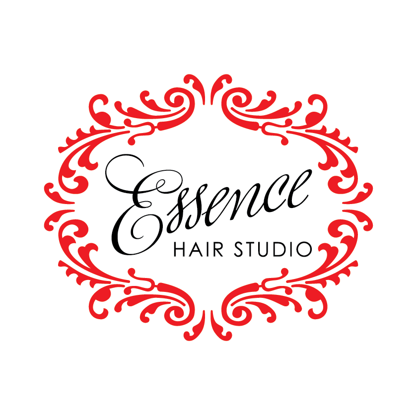 """Essence Hair Studio"" logo by DahlHouse Design."