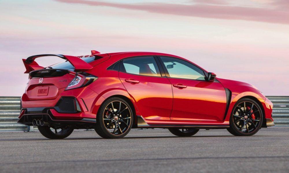 2019 Honda Civic TypeR, red Автомобили