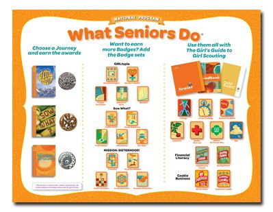Insignia List: Girl Scout Seniors | Badges & Fun Patches | Pinterest