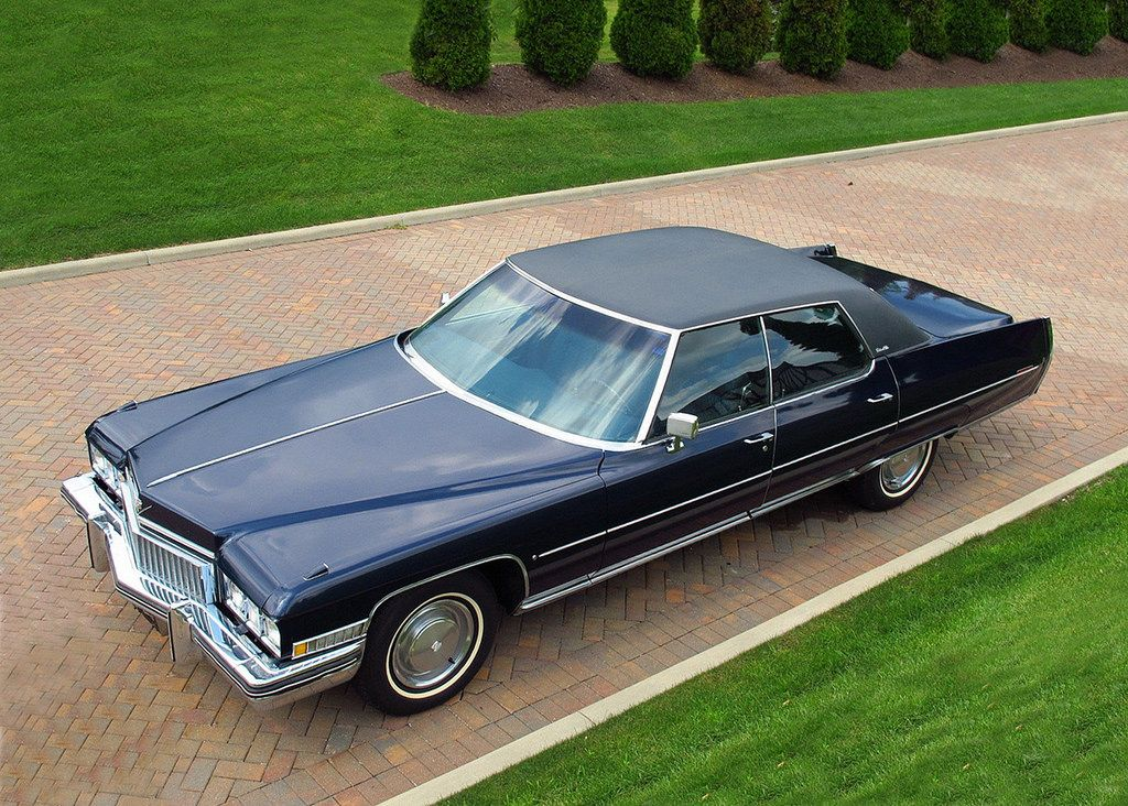 1973 Cadillac Sedan DeVille Maintenance/restoration of old/vintage ...