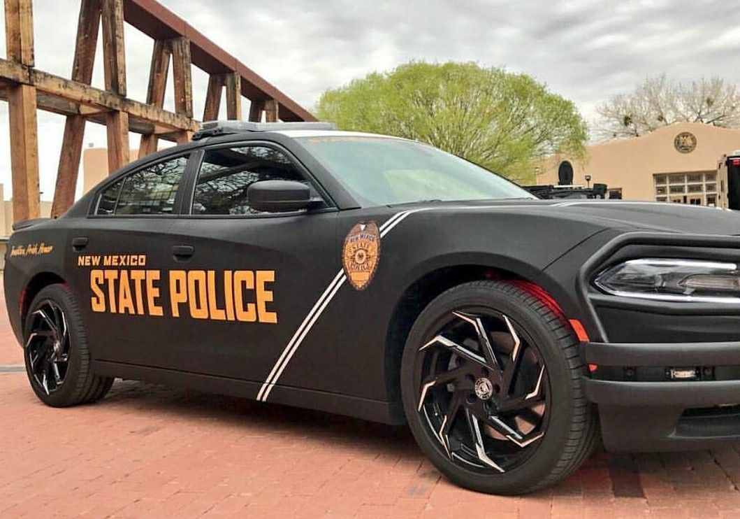 New Mexico State Police Dodge Charger Recruitment Unit