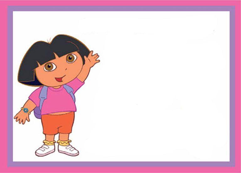 Dora The Explorer Template Dora The Explorer Explorer Invitation Dora And Friends