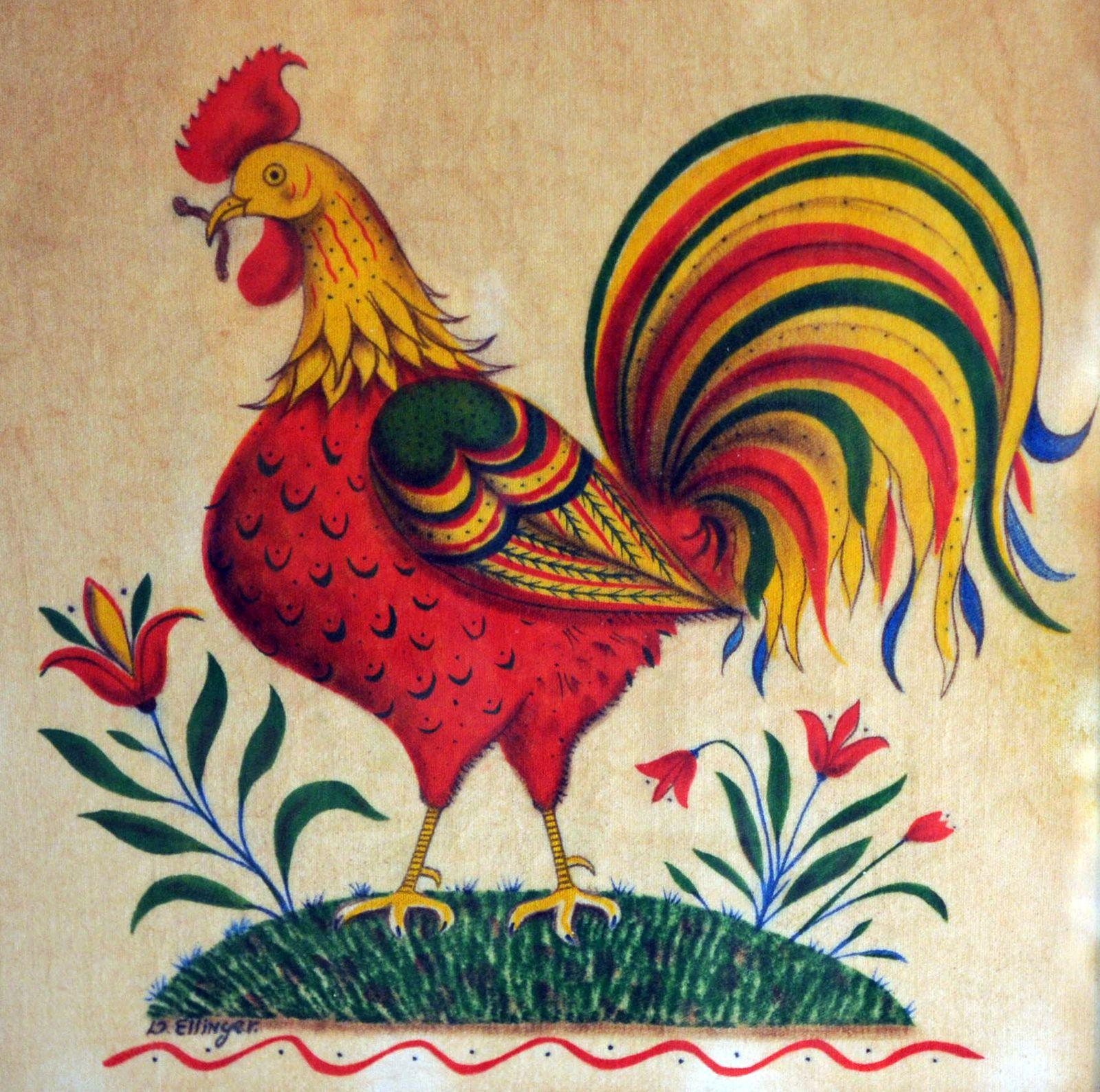 Multicolored Rooster: theorem on velvet 13 3/4\