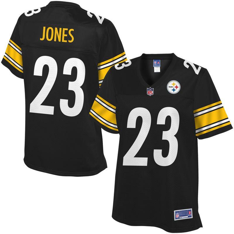 NFL Pro Line Women's Pittsburgh Steelers Felix Jones Team Color Jersey