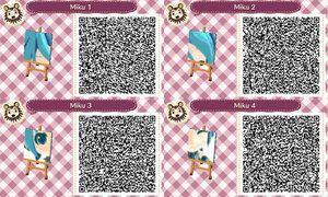 New Leaf Pattern Challenge Day 13 Chibi Miku By Kawaiipotato Qr