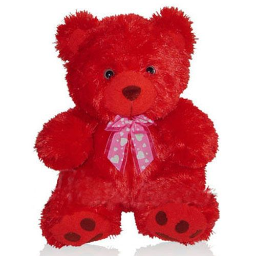 Red Teddy Bear, so cute
