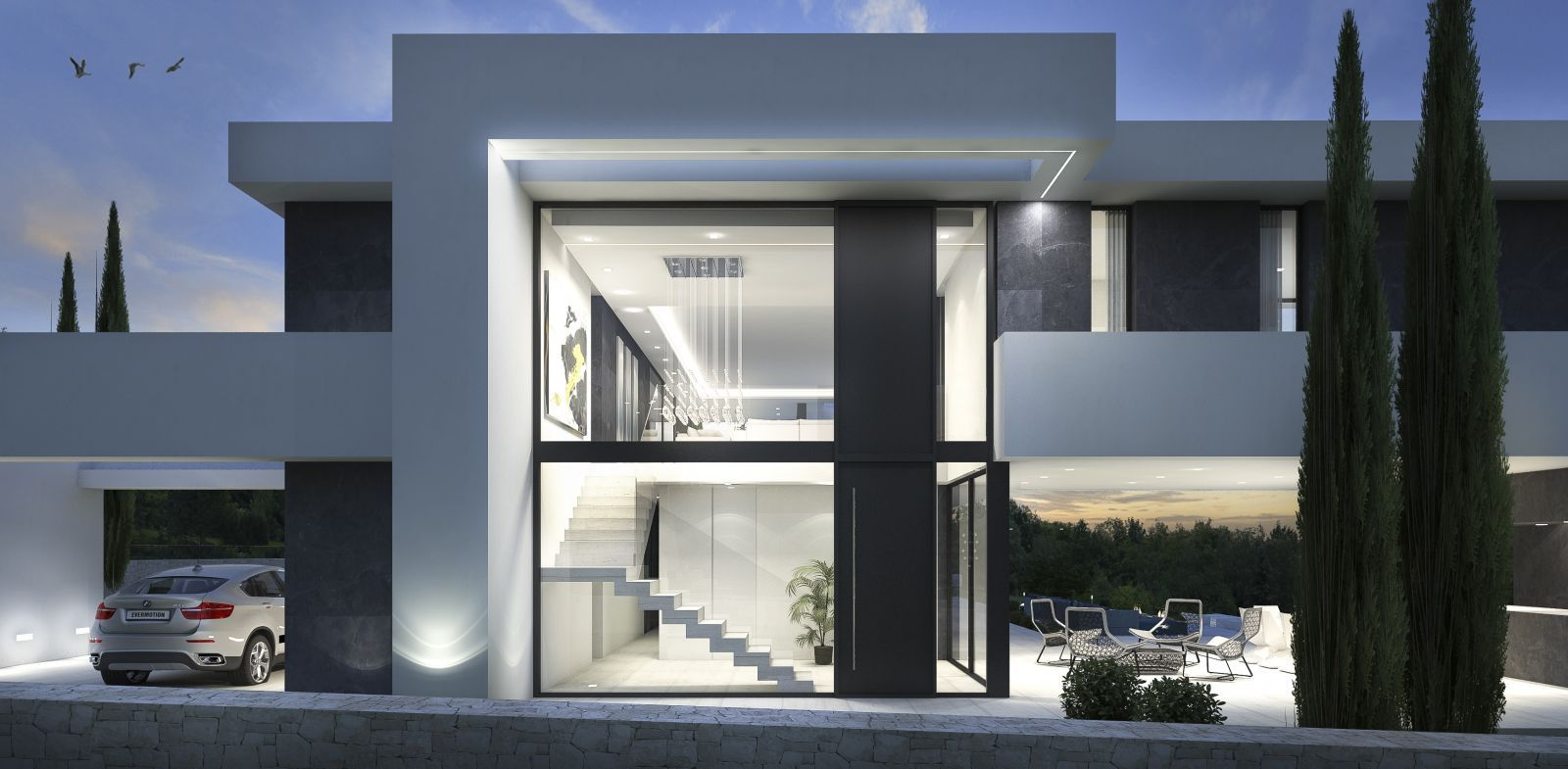 New projects be spoiled nel 2019 design case moderne for Architettura case moderne idee