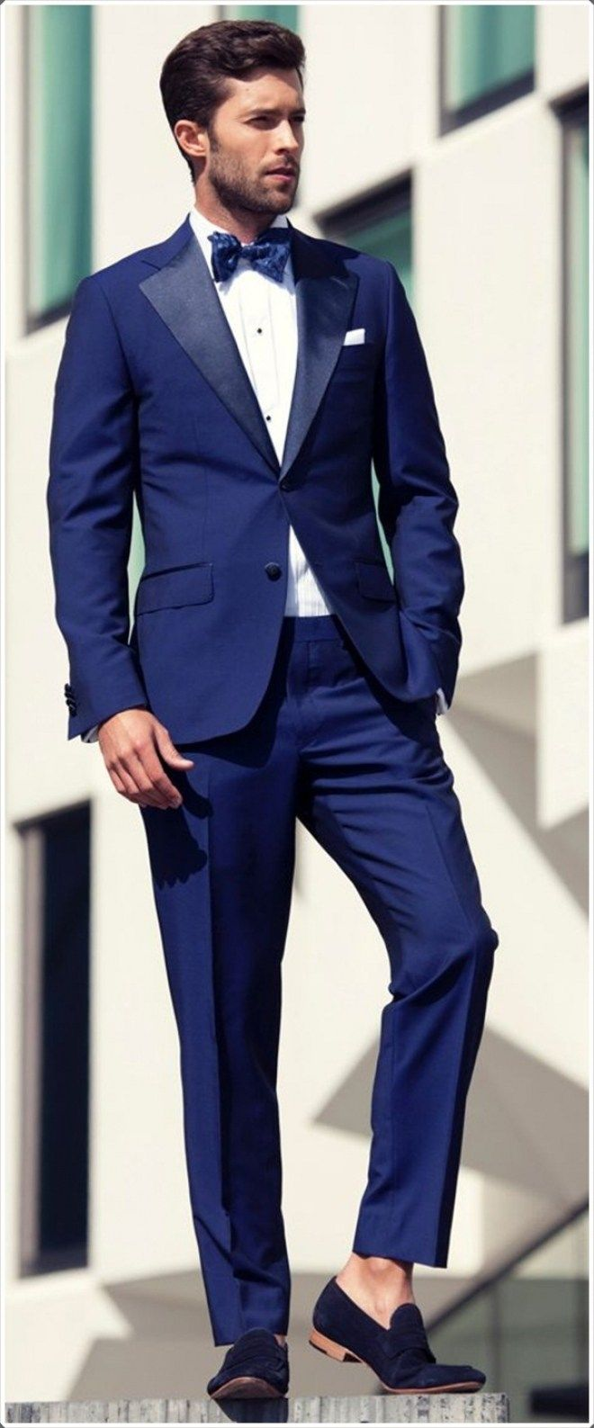 100 Best Blue Mens Suits Combinations To Look More Gorgeous With Suit Brown Shoes Wedding