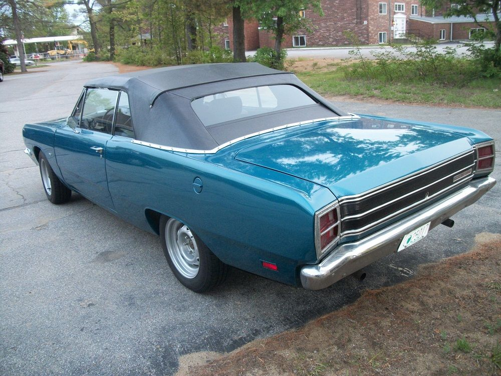 1969 Dodge Dart Convertible Local To Me I Took This Picture