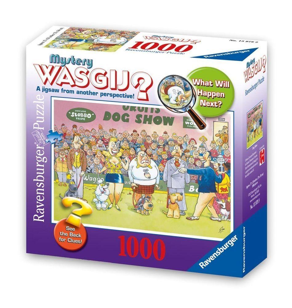 Ravensburger - Dog Show Mystery WASGIJ? Jigsaw Puzzle - 1000 pc ...