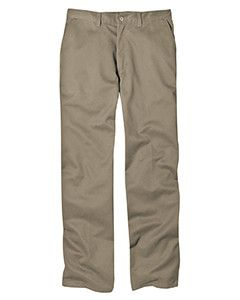 Dickies 8 oz. Relaxed Fit Cotton Flat Front Pant WP314 Khaki 46