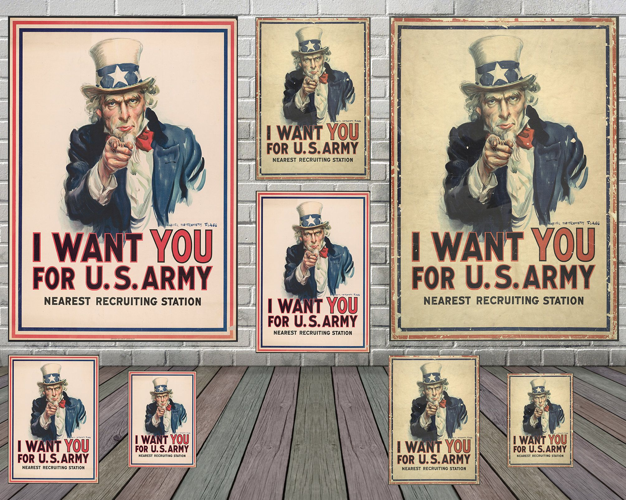 I Want You For Us Army Vintage Poster By James Montgomery Flagg James Montgomery Flagg Vintage Poster Retro Poster Unc Vintage Posters Uncle Sam Korean Art