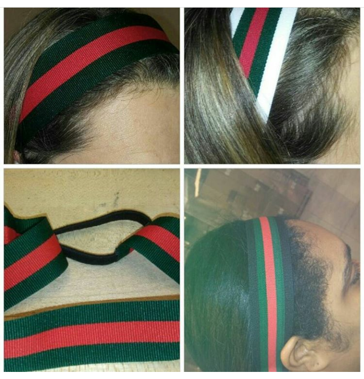 Gucci Headband Inspired Red and Green Stripe Headband  3ece547ab47