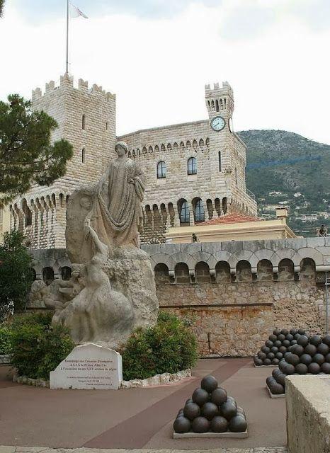 Castle Grimaldi - Cote d Azur, France