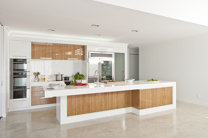 Cabinetry laminex timber veneer in zebrano was used to for Laminex kitchen ideas