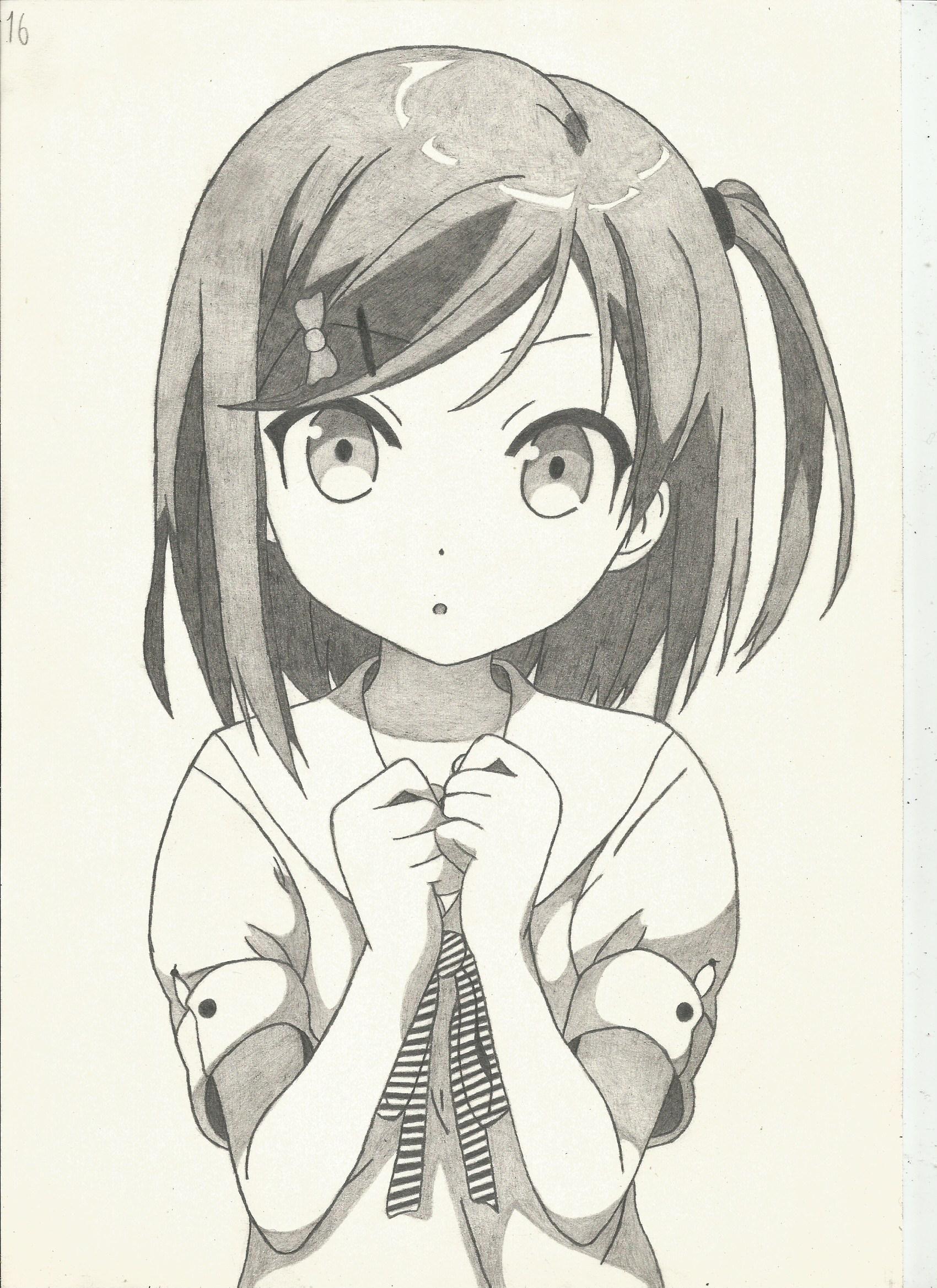 рисунки аниме фото