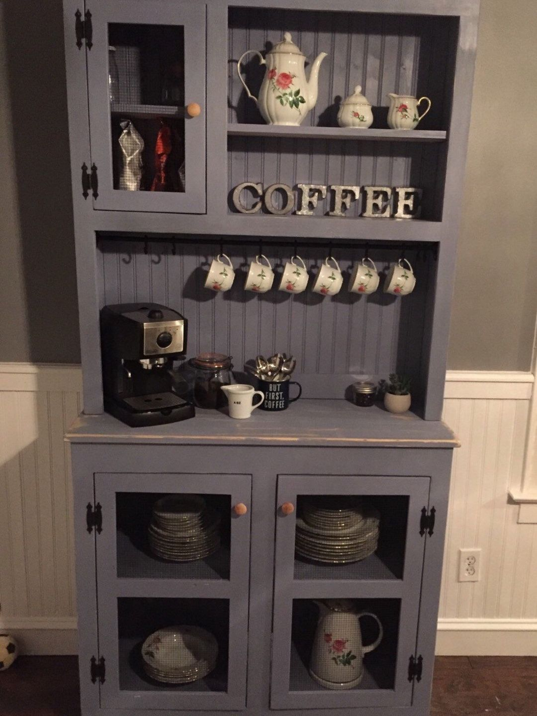 Coffee Bar In The Kitchen