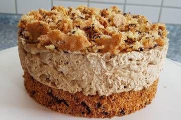 Eiskaffee - Sahne - Torte #frenchvanillacreamerrecipe