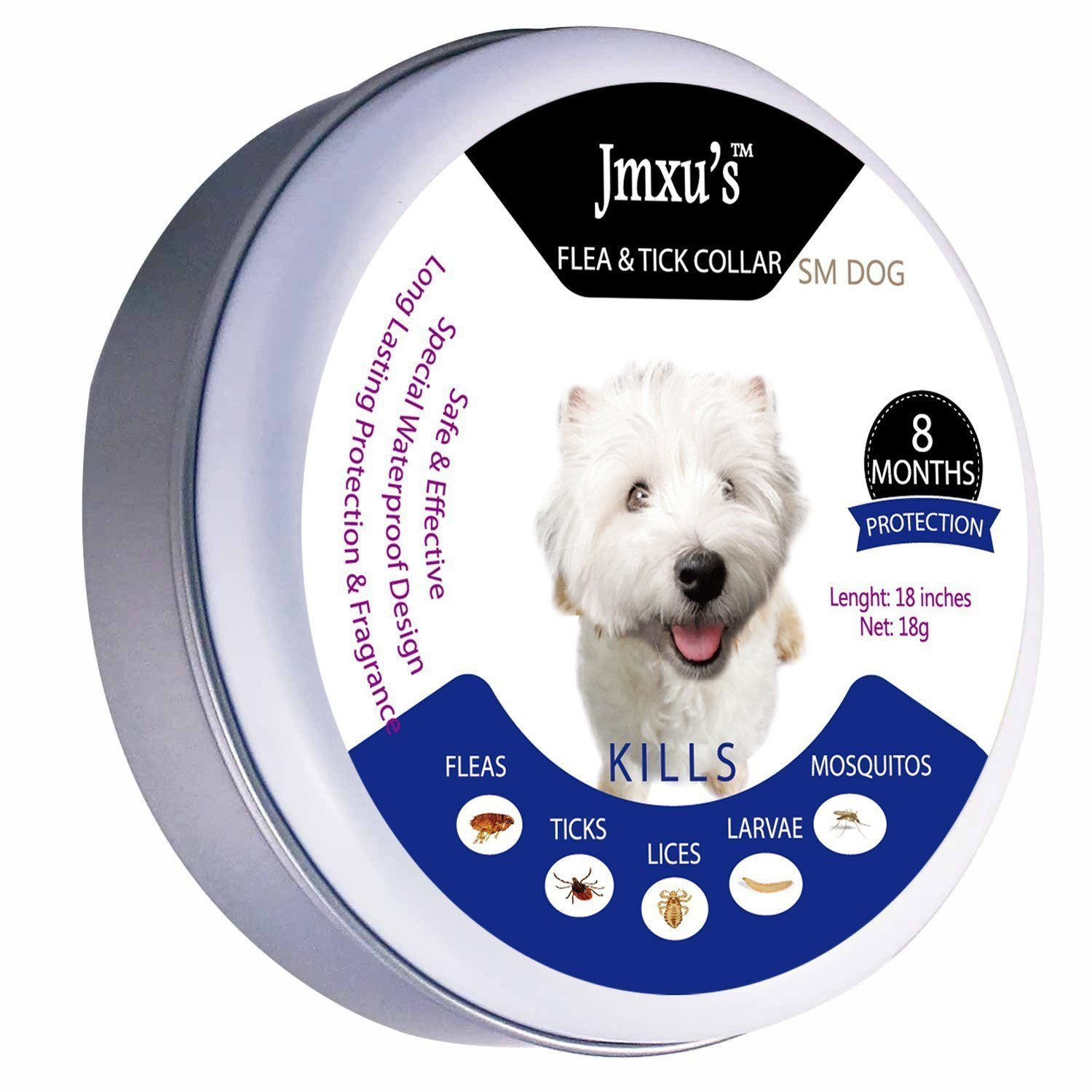 Jmxu's Flea and Tick Prevention for Dogs and Cats, Flea