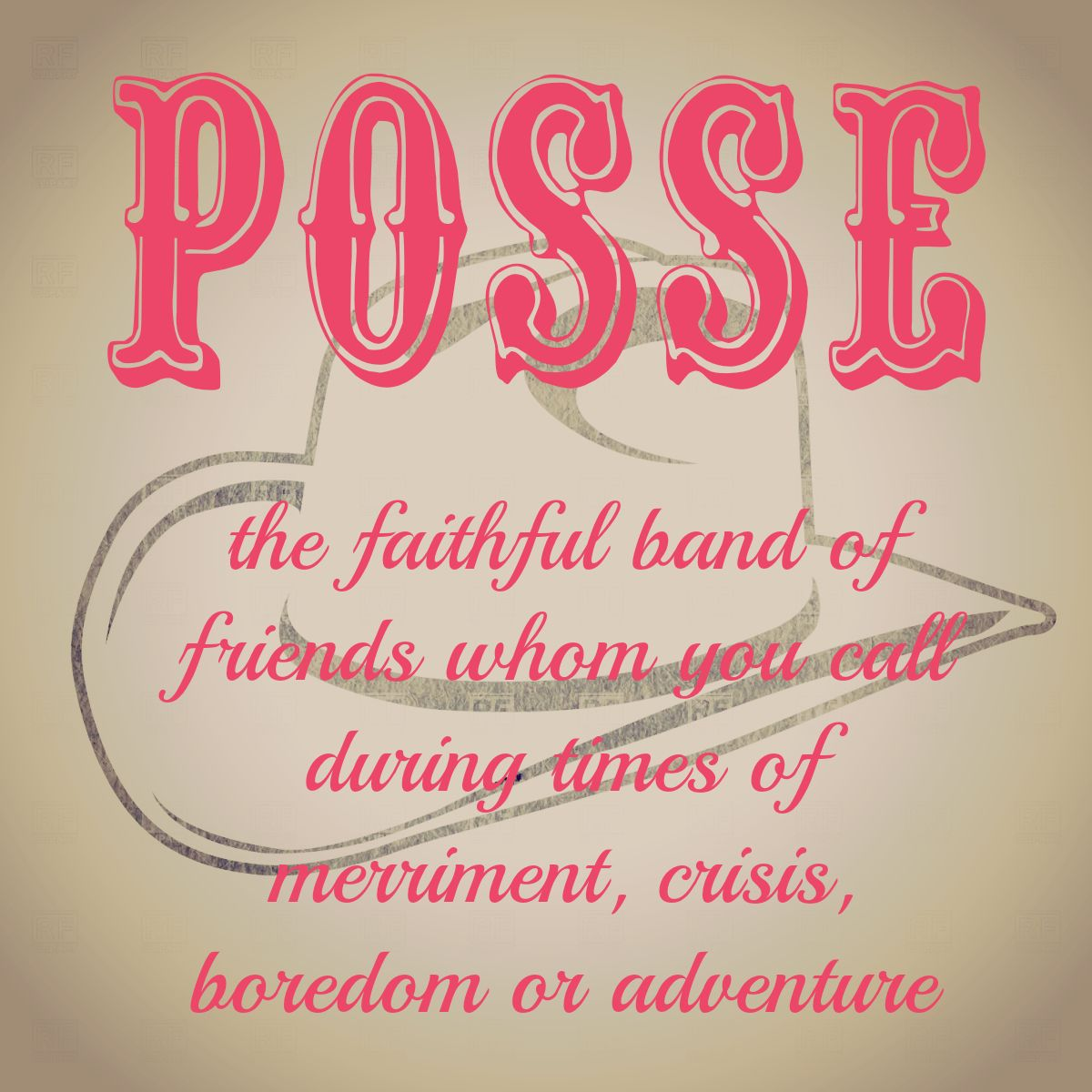 Posse definition by the gracious posse words of wisdom fun posse definition by the gracious posse stopboris Images