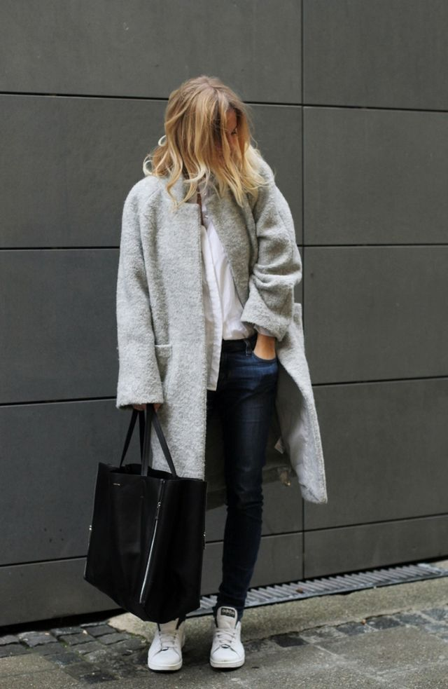 5 looks d'hiver avec un manteau gris – Taaora – Blog Mode