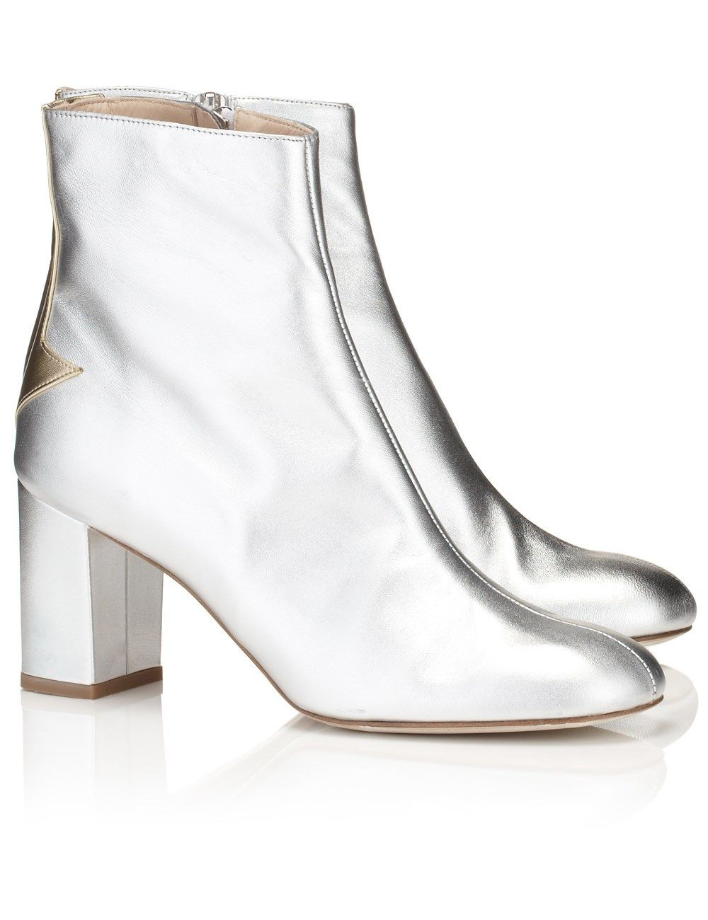 Best 25 Silver Boots Ideas On Pinterest Mirror Boots