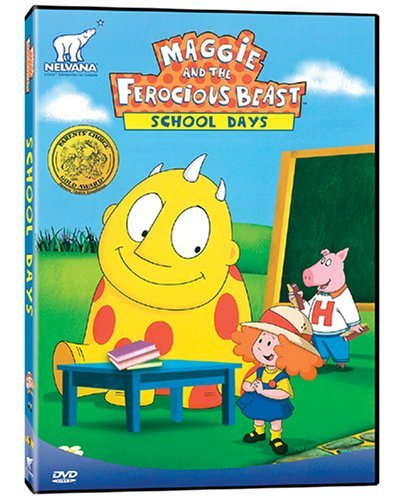Maggie The Ferocious Beast School Days Dvd Maggie And The