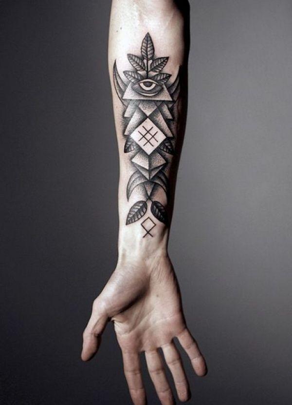 8 coole Männer Tattoo Motive für den Unterarm | Arm
