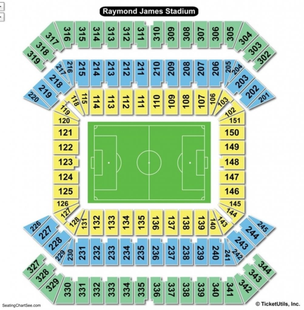 The Most Awesome raymond james stadium seating chart # ...